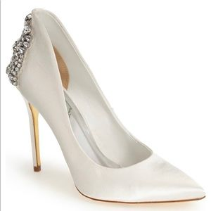Ted Baker Meion Crystal Pointy Toe Pump